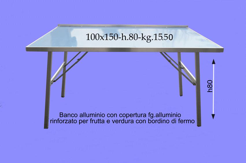 Tavoli Alluminio Pieghevoli Per Ambulanti.Vendita Banchi Per Ambulanti E Da Mercato B E M M Vendita